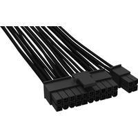 BeQuiet Computer, Strøm Kabel [1x ATX-Strom-Stecker 24pol. (20+4) (value.1390866) - 1x ATX-Strom-Stecker 24pol. (20+4) (value.1390866)] 600 m Sort BeQuiet